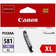 CLI-581XLPB CARTUCCIA INCHIOSTRO BLU FOTOGRAFICO ORIGINALE CANON