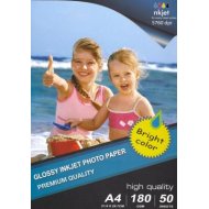 Carta Fotografica High Glossy Photo Paper A4 50 Fogli - 1800 g/m²