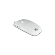Silhoutte mouse ottico USB colore bianco ultrasottile