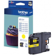 Cartuccia Originale Brother LC-123Y colore Giallo