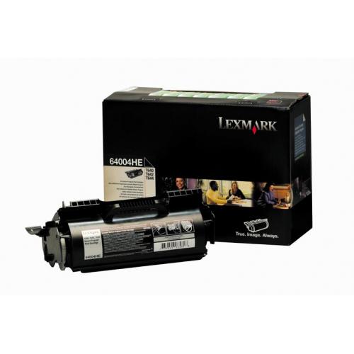 Toner nero 64004HE Originale Lexmark