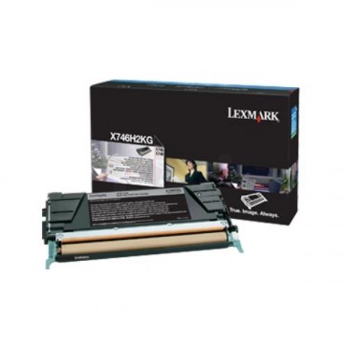 Toner nero X746H3KG Originale Lexmark