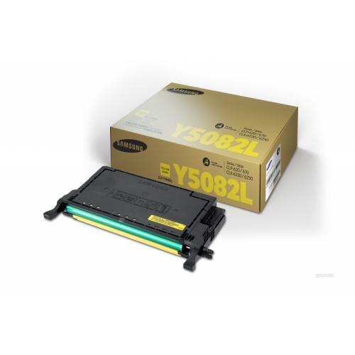 Toner giallo CLT-Y5082L/ELS Originale Samsung