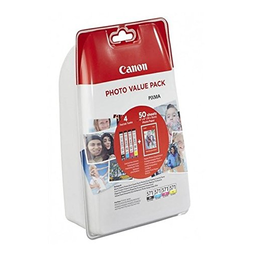 Serbatoi inchiostro Nero - Colore 0386C007 Originale Canon