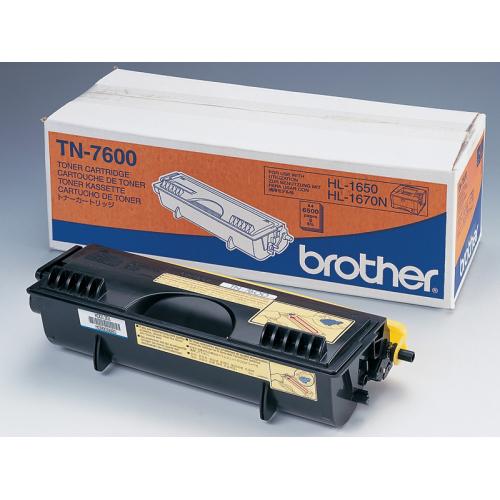 Toner nero TN7600 Originale Brother