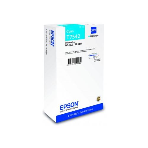 Cartuccia Originale Epson C13T754240 T7542 ciano