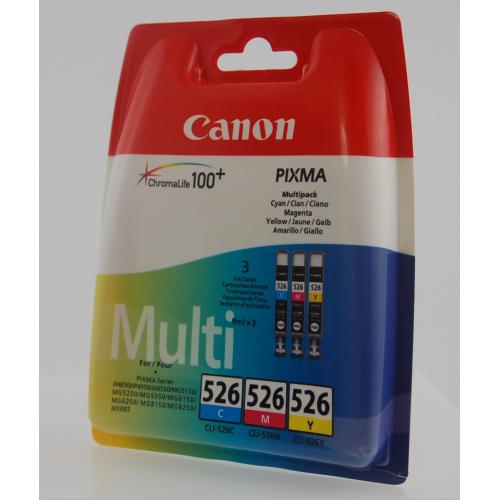 Serbatoi inchiostro Ciano - Magenta - Giallo 4541B009 Originale Canon