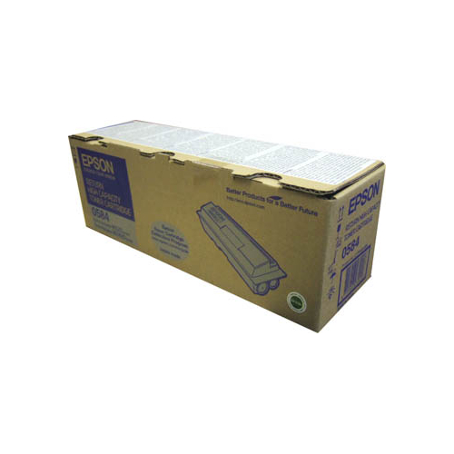 Toner nero C13S050584 Originale Epson