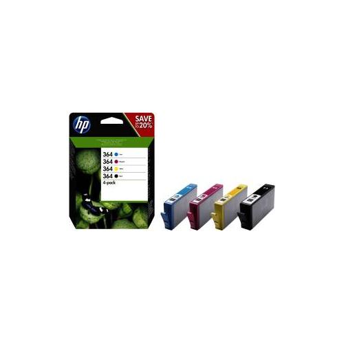 N9J73AE Cartucce ORIGINALI HP 364 (1x nero ciano magenta giallo)