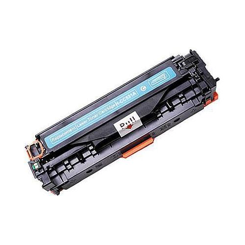 304A Toner Compatibile con HP CC531A e Canon Cartridge 718 Ciano