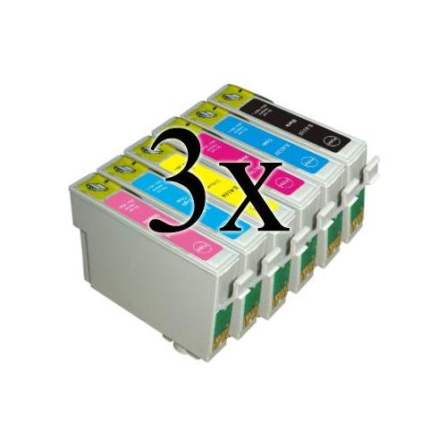 18 Cartucce COMPATIBILI con serie Colibrì Epson