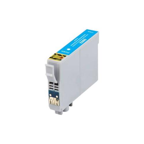 T0802 Compatibile con Epson Colibrì Ciano