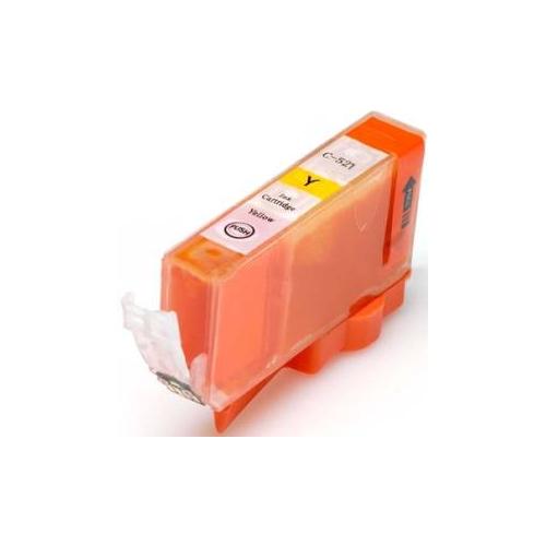 Cartuccia compatibile con Canon CLI-521Y Giallo con CHIP