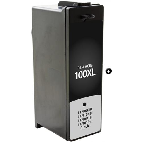Cartuccia COMPATIBILE Lexmark 100XL Nero Alta Capacita' (con chip)