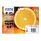 Cartucce Nero foto - Nero - Ciano - Magenta - Giallo C13T33374010 Originale Epson