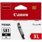 CLI-581XLBK CARTUCCIA INCHIOSTRO NERO PER PIXMA TS 6150/8150/9150 TR 8550 (8,3ml)