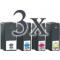 12 cartucce compatibili Lexmark 100XL (3 nero, 3 ciano, 3 magenta, 3 giallo) alta capacita