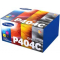 Value Pack CLT-P404C 4 Toner Originali Samsung: nero ciano magenta giallo