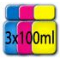 Inchiostri per Ricarica cartucce HP Colori n.22/28/57 342/343/344 351